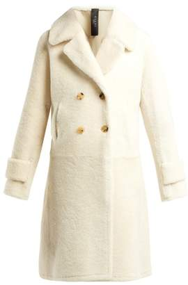 Giani Firenze - Martina Shearling Coat - Womens - White