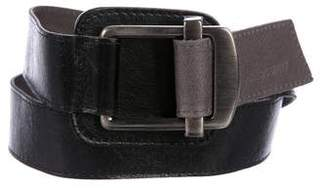Philosophy di Alberta Ferretti Leather Waist Belt