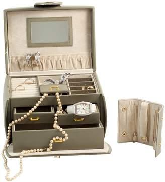 """Bey-Berk 6.5"""" Jewelry Box"""
