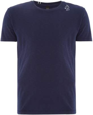 Replay Men's Printed Slub Jersey T-Shirt