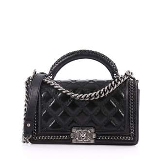 Chanel Boy leather crossbody bag