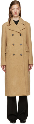 3.1 Phillip Lim Camel Wool Long Car Coat $1,495 thestylecure.com