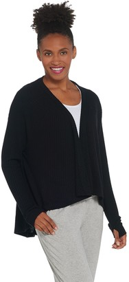 Anybody AnyBody Brushed Rib Hacci Cocoon Cardigan