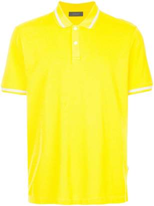 Durban D'urban contrast stripe polo shirt