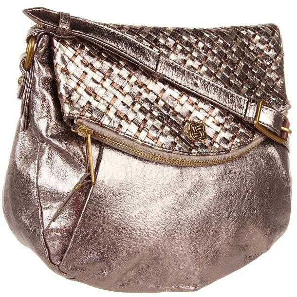 Elliott Lucca Intreccio Flap Zip Crossbody (Black) - Bags and Luggage