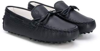 Tod's Kids tie front loafers