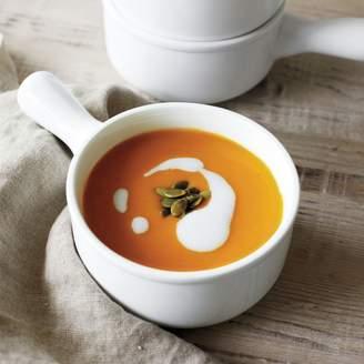 Sur La Table Porcelain Soup Bowl with Handle