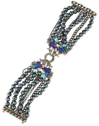Stephen Webster Pop Superstud with Hematite, Blue Topaz and Tanzanite Bracelet