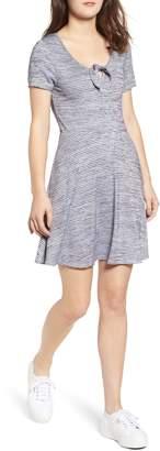 Speechless Stripe Skater Dress