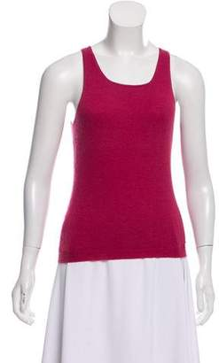 Christian Dior Sleeveless Scoop Neck Top