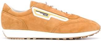 Prada rubber logo low-top sneakers