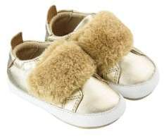 Old Soles Baby Girl's Bambini Pet Faux-Fur Sneakers