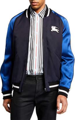 Burberry Men's Souvenir Varsity Jacket