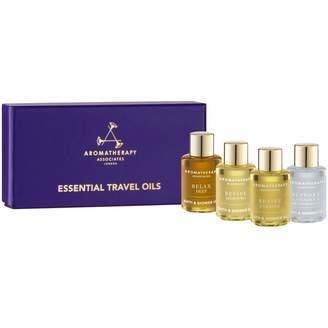 Aromatherapy Associates Essential Travel Oils 4 x 7.5ml
