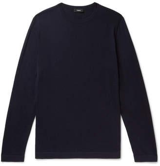 Theory Lievos Slim-fit Cashmere Sweater - Navy