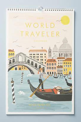 Rifle Paper Co. World Travel 2019 Calendar