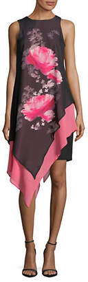LORI MICHAELS Sleeveless Chiffon Dress