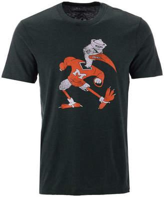 '47 Men Miami Hurricanes Throwback Club T-Shirt