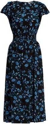REBECCA TAYLOR Open-shoulder silk-chiffon dress $575 thestylecure.com