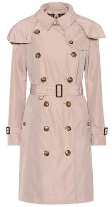 Burberry Kensington taffeta trench coat