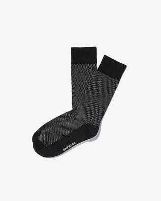 Express Pindot Dress Socks