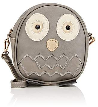 Molo Kids Owl Faux-Leather Crossbody Bag
