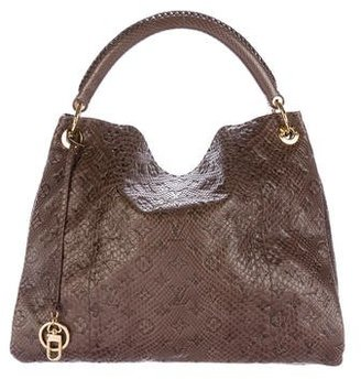 Louis Vuitton Python Artsy Hobo $7,000 thestylecure.com