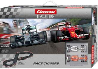 Carrera 25219 Race Champs Mercedes / Ferrari F1 - Evolution Box Set