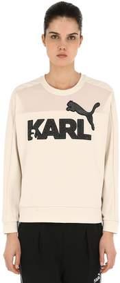 Puma Select Karl Glitter Patches Jersey Sweatshirt