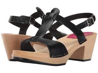 Swedish Hasbeens Greek Sandal High Heels