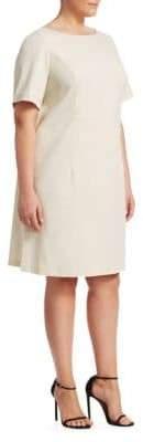 Lafayette 148 New York Lafayette 148 New York, Plus Size Fundamental Bi-Stretch Emanuelle Dress