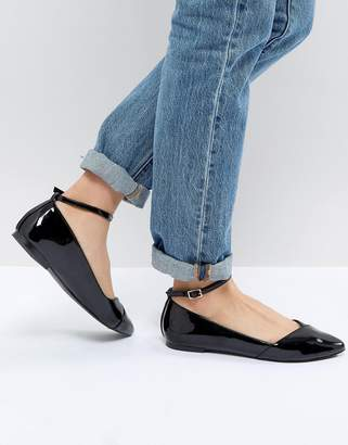 Faith Allie Pointed Flat Shoes