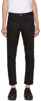 Prada Black New Denim Stretch Raw Jeans