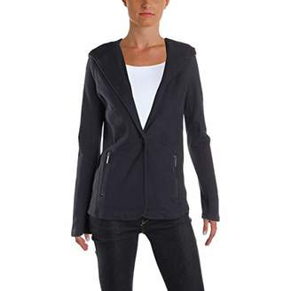 Kenneth Cole Women's Pebble Knit Hooded Blazer
