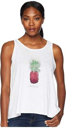 Life is Good Pineapple Love Breezy Tank Tee Women's Sleeveless