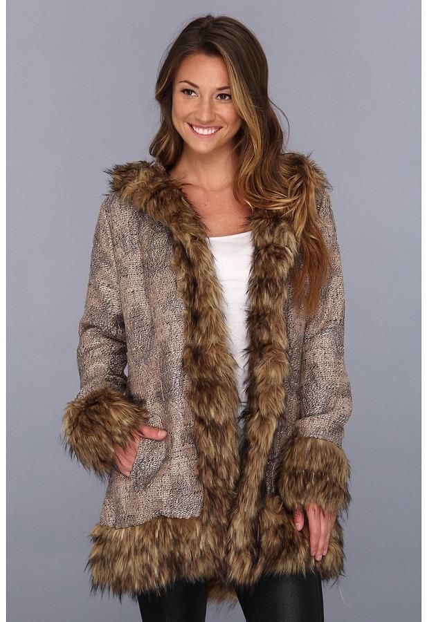 MinkPink Magic Carpet Coat (Multi) Women's Coat