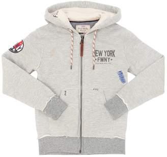 Fred Mello Cotton Sweatshirt Hoodie
