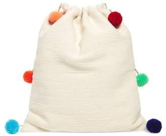 Pitusa Pompom Drawstring Bag
