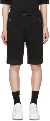 3.1 Phillip Lim Black Cotton Shorts $250 thestylecure.com