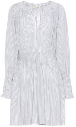 Ulla Johnson Rory striped cotton-blend dress