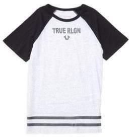 True Religion Boy's Branded Logo Tee