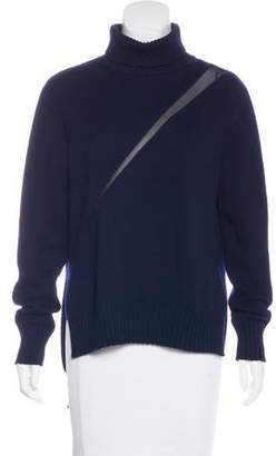 Undercover Silk-Trimmed Wool Sweater
