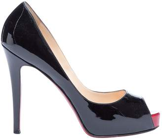 Christian Louboutin Very Prive Black Patent leather Heels