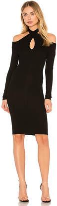 Enza Costa Rib Twist Dress