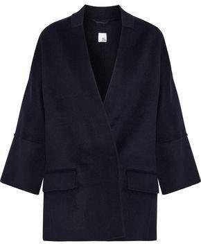 Iris & Ink Dorian Double-Breasted Wool-Blend Felt Jacket