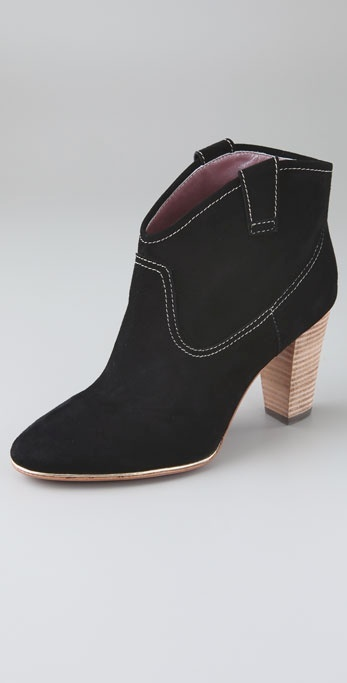 Luxury Rebel Sandy Suede Booties