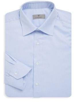 Canali Refined Cotton Dress Shirt