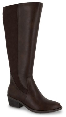 Easy Street Shoes Cortland Wide Calf Riding Boot