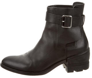 Alexander WangAlexander Wang Leather Ankle Boots