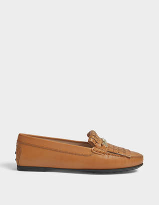 Tod's City Gommino loafers with fringe